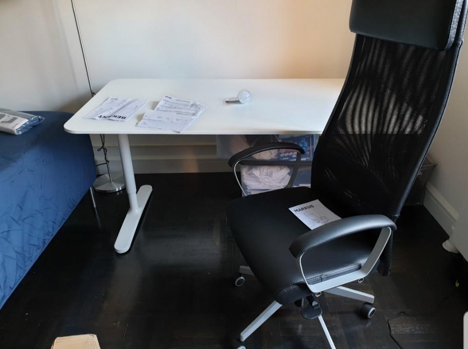 책상과 의자